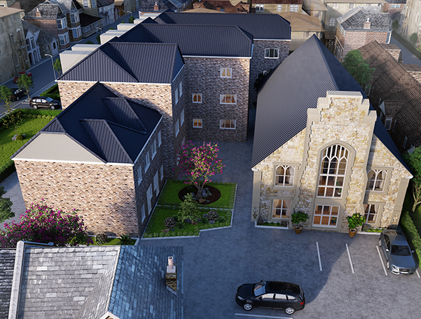architectural, architecture, vincent court, ramsgate, kent, uk, cgi, visual, visualisation, render